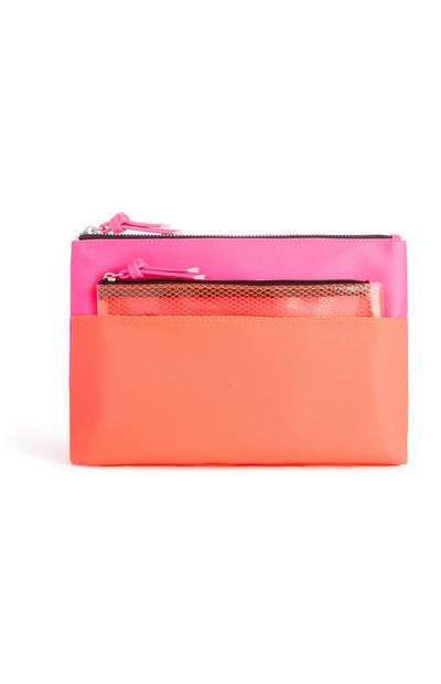 Pink And Orange 2Pc Bag
