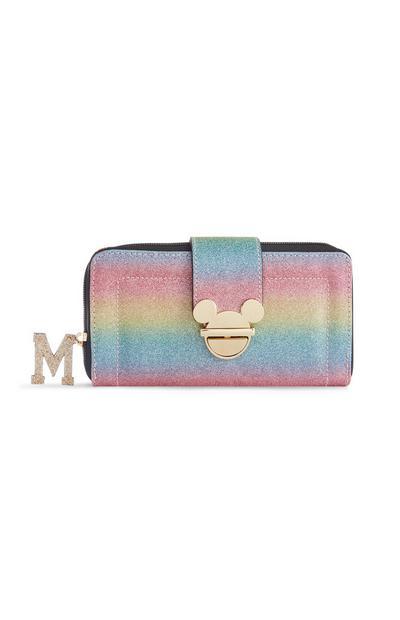 Mavrična torbica z bleščicami Disney