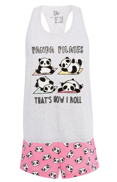 Pijama de pandas