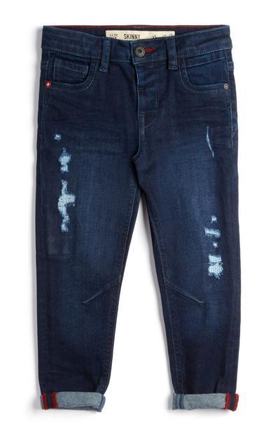 Indigoblauwe jeans voor meisjes