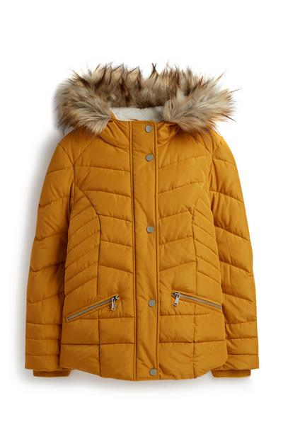 Gelber Parka (Teeny Girls)