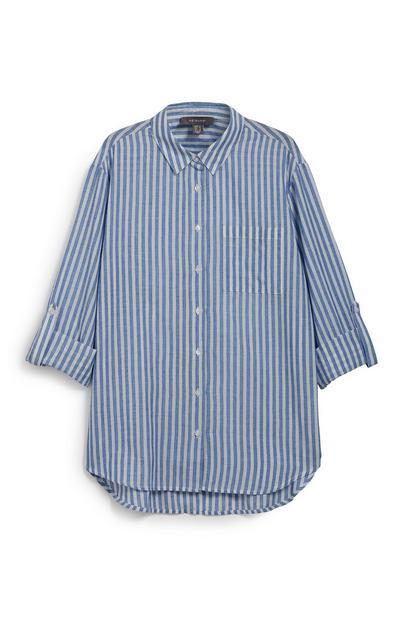 Gestreept casual overhemd