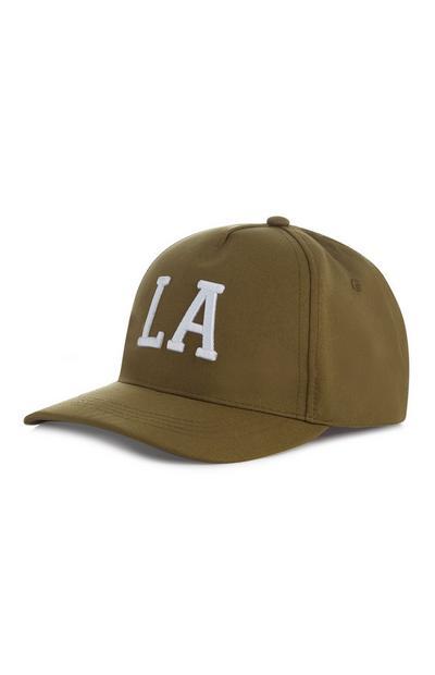 Boy's Olive LA Cap
