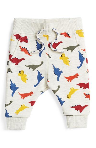Baby-joggingbroek met dinosaurusmotief, jongens