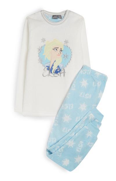 Pyjamaset van fleecestof met Elsa uit Frozen voor oudere meisjes