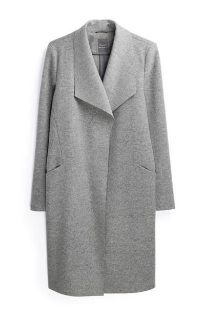 Gray 3/4 Coat
