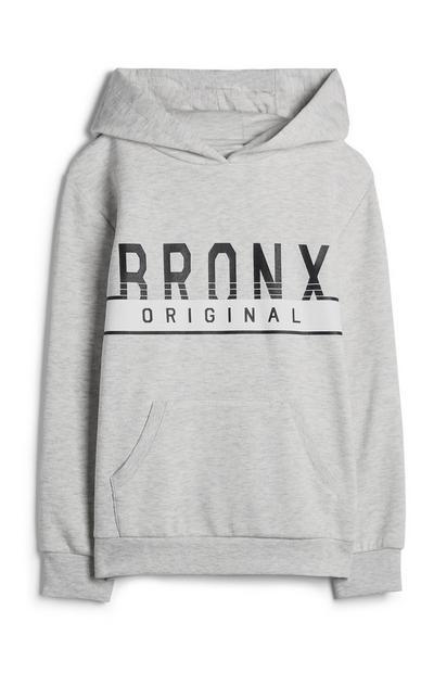 Sweat à capuche Bronx ado