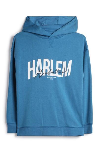 Sweat à capuche Harlem ado
