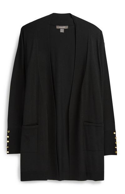 Cardigan long noir