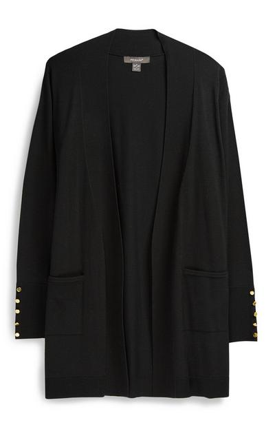 Cardigan long noir