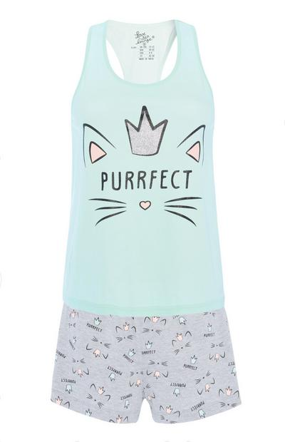 """Purrfect"" Pyjamaset"