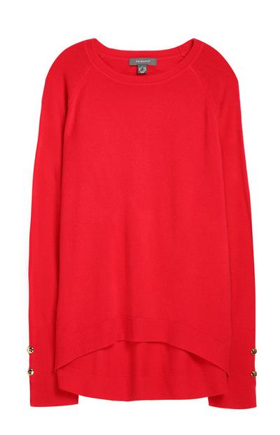 Red Supersoft Sweater