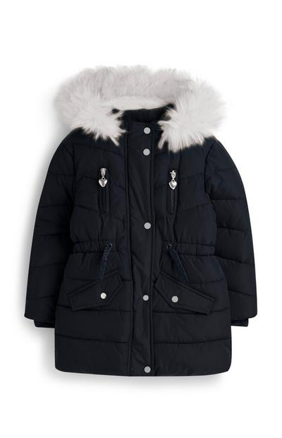 Gevoerde jas, meisjes