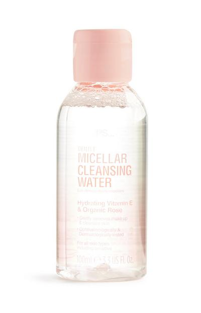 Agua micelar limpiadora suave