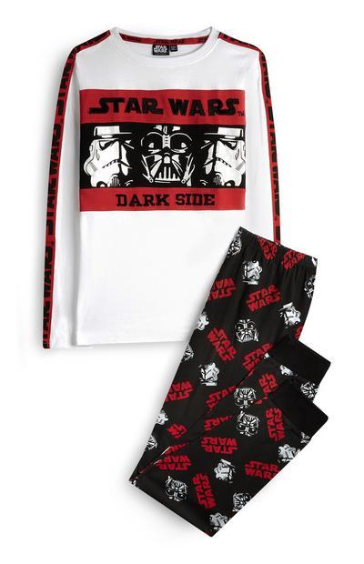 Pyjama Star Wars Dark Side voor jongens, set van 2