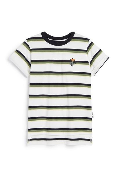 Gestreiftes T-Shirt (kleine Jungen)