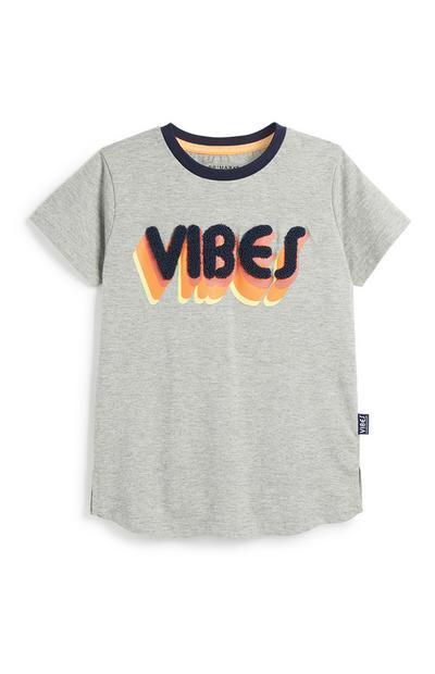 Camiseta «Vibes» para niño pequeño