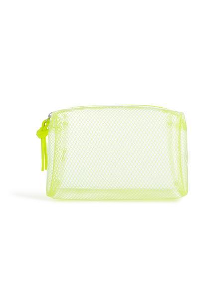 Bolso de malla verde