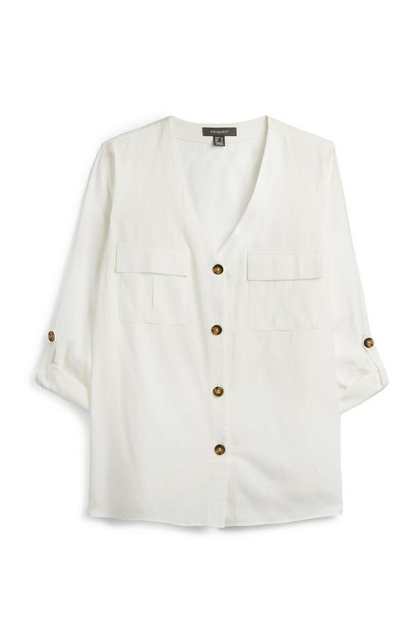 Ivory Utility Shirt