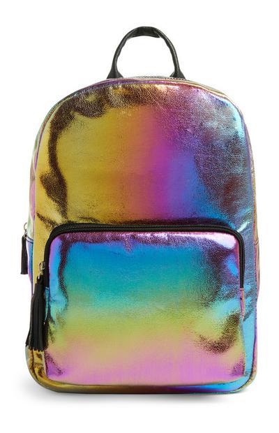 Zaino multicolore glitterato