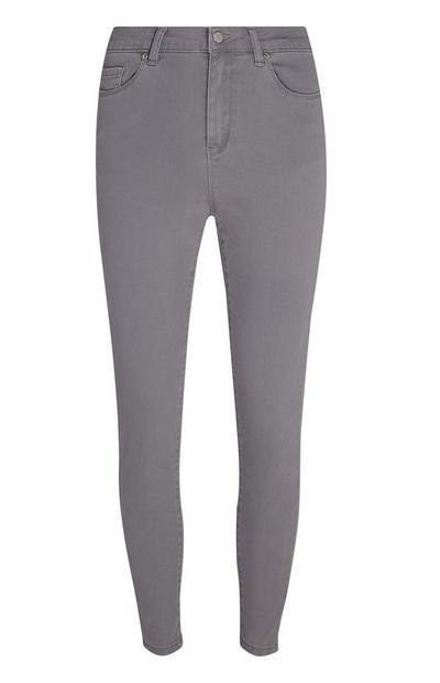 Gray Super Stretch Jeans