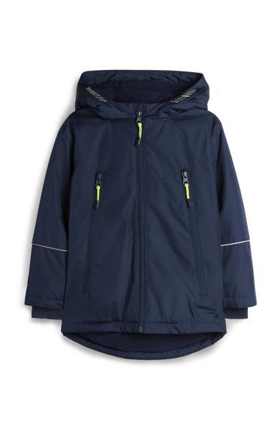 Younger Boy Navy Zip Jacket