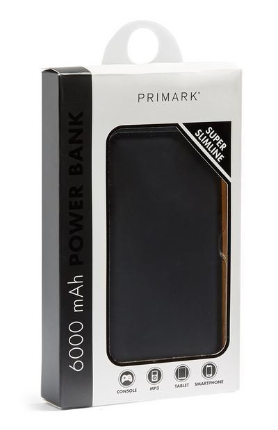 Batterie externe fine noire
