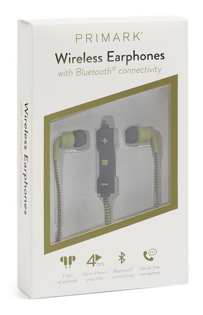 Écouteurs kaki sans fil