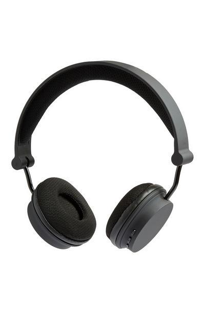 Casque audio noir sans fil