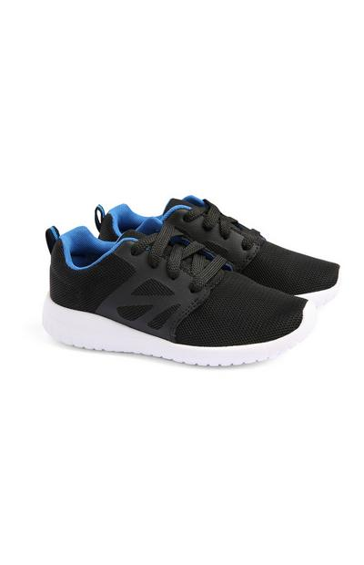 Zwarte pylon sneakers