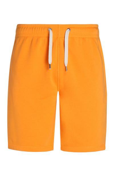 Pantalón corto naranja fluorescente