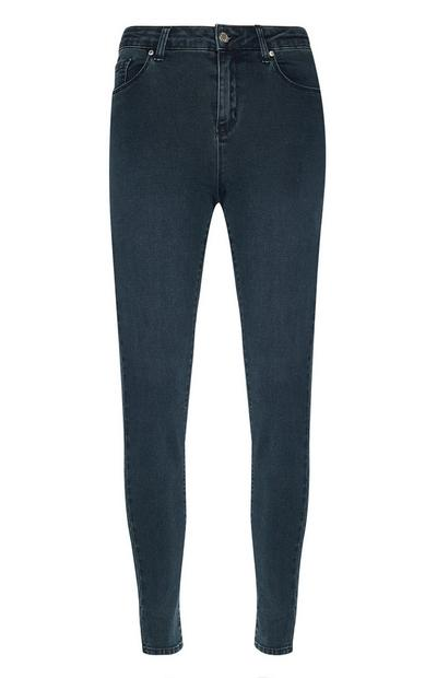 Deep Blue Super Stretch Skinny Jeans