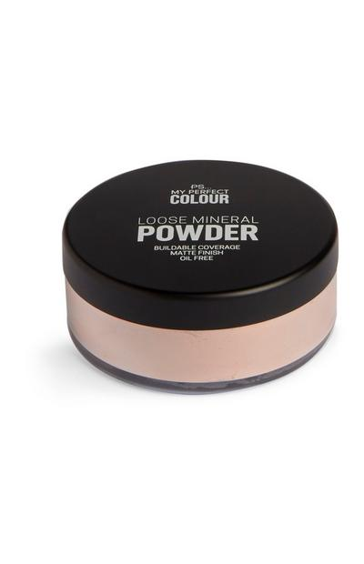 Beige Loose Mineral Powder