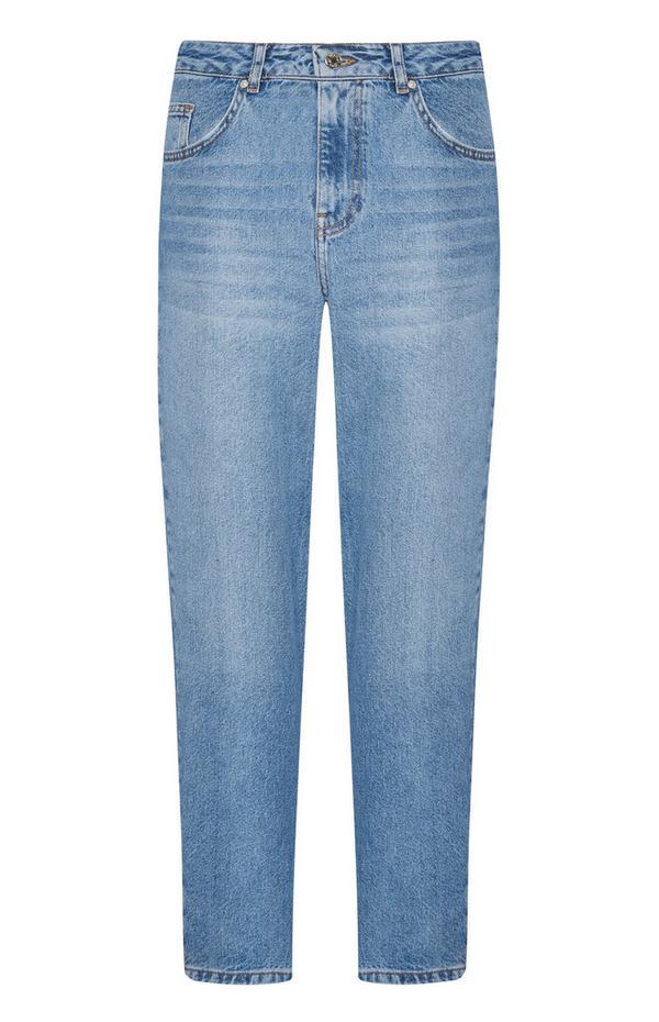 Jeans mom azzurri