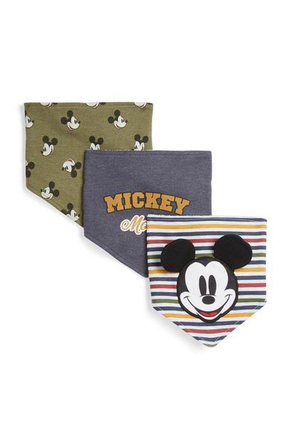 Pack 3 bandanas Mickey Mouse