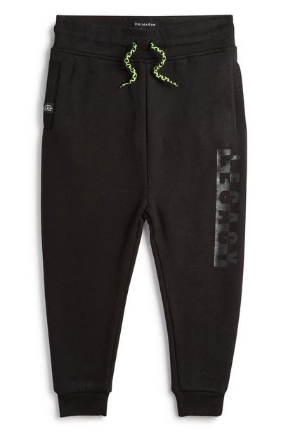 Schwarze Jogginghose (kleine Jungen)