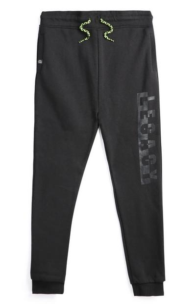 Pantalón de chándal negro para niño mayor