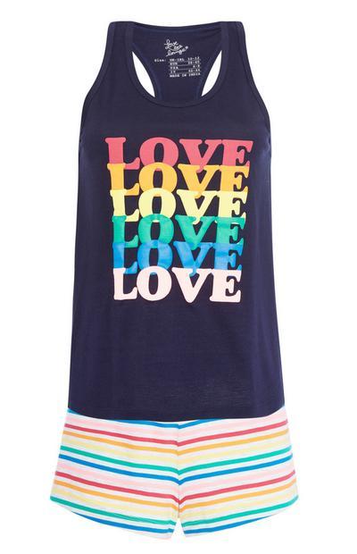 Pyjamaset Love