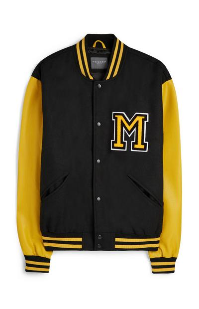 Yellow Varsity Jacket