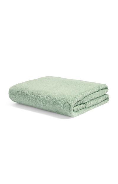 Serviette essuie-mains de luxe vert opaline