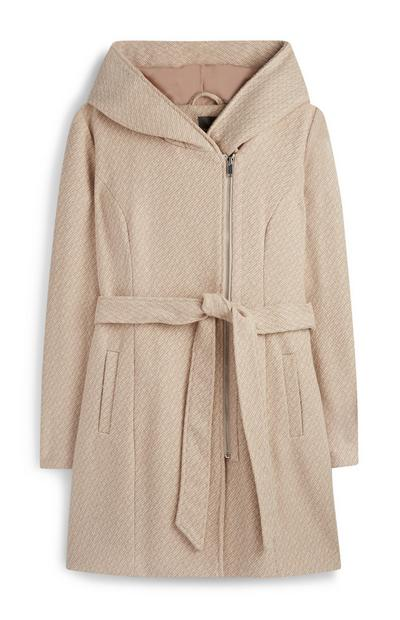 Cowl Neck Coat