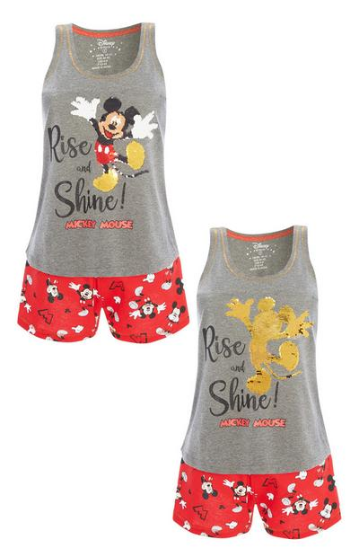 Mickey Mouse Sequin Pyjama Set