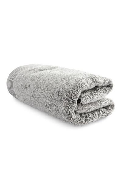 Toalha cinzento-claro