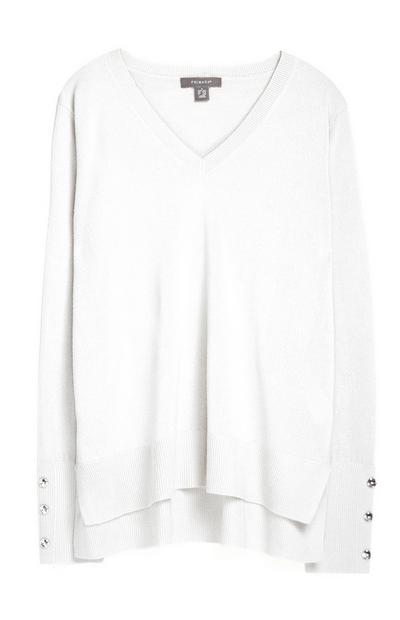 White Supersoft Jumper