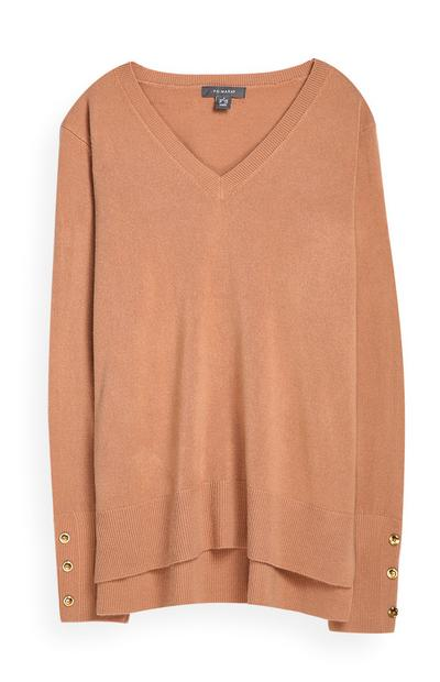 Tan Supersoft Sweater