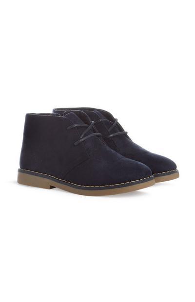 Chaussures bleu marine garçon