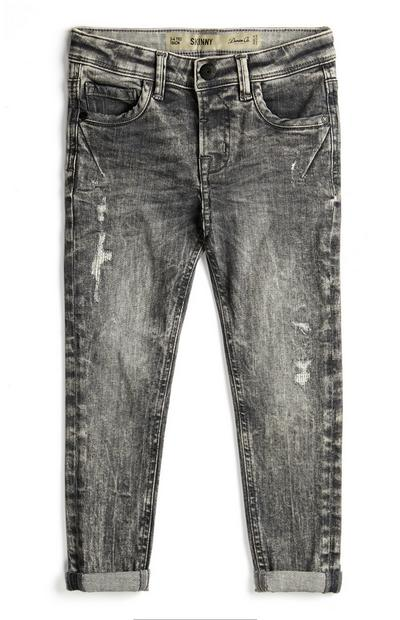 Younger Boy Gray Jeans