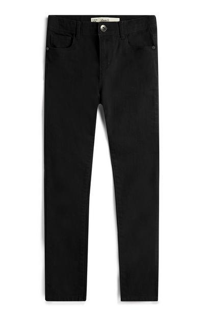 Older Boy Black Skinny Jeans