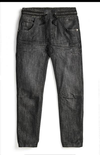 Younger Boy Black Denim Jean