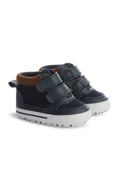 Marineblaue Stiefel für Babys (J)